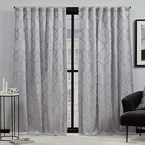 rod pocket curtains, grommet curtains, blackout curtains, room darkening, total blackout