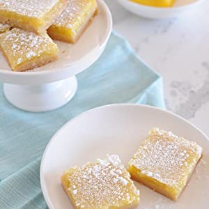 Lemon Bars - Clean Treats For Everyone: Healthy Desserts And Snacks Made With Simple, Real Food Ingredients