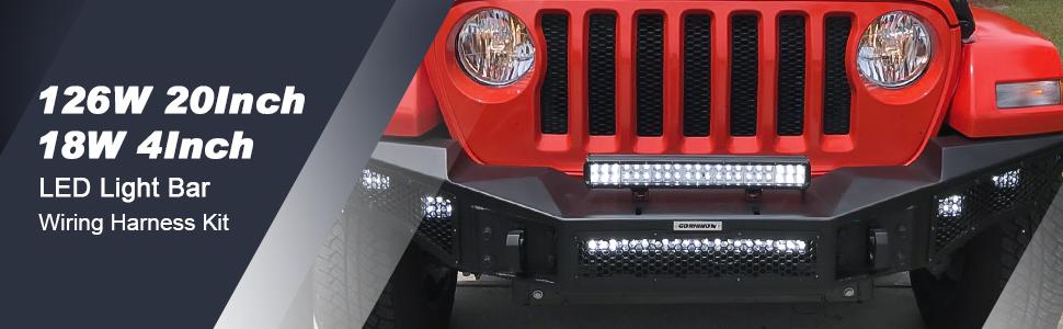 nilight, led light bar