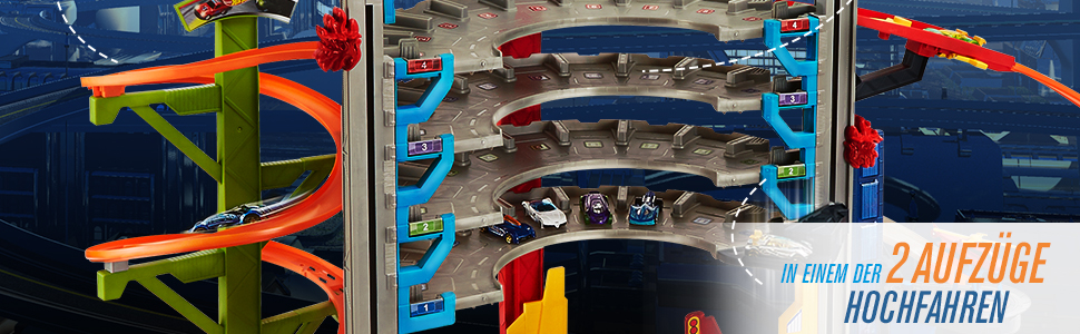 Hot Wheels Mega City Park Garage
