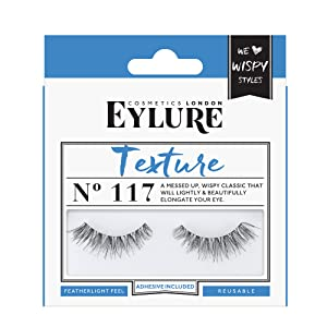 744f57d0064 Eylure Strip False Lashes Texture No. 117 | eBay