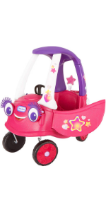 Little Tikes Superstar Cozy Coupe Themed Role Play Ride-On Toy