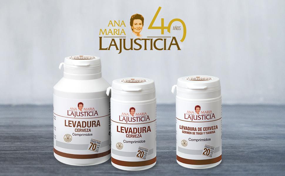 Ana Maria Lajusticia - Levadura de cerveza – 280 comprimidos ...