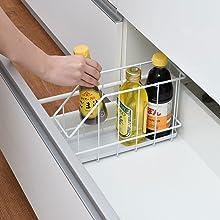 引き出しタイプのシステムキッチンを便利に!