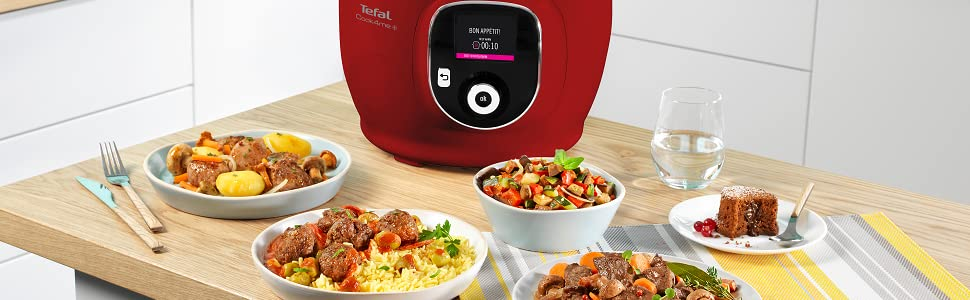 Tefal Cook4Me+ Red, CY8515
