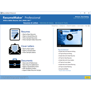 Amazon.com: ResumeMaker Professional Deluxe 20: Software