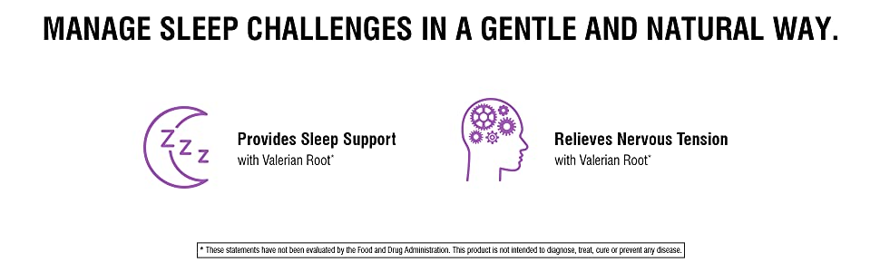 Manage sleep challenges in a gentle and natural way.