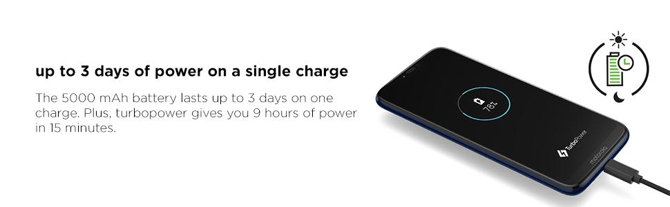 Moto G7 Power, Turbopower, All day battery