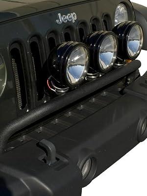 Rugged Ridge 11138.02 Stainless Steel Front Bumper Light Bar