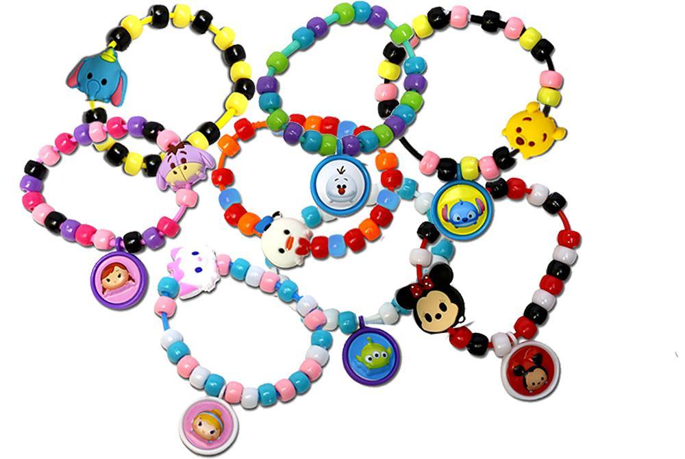 Amazon Com Tara Toy Tsum Bead A Bracelet Jewelry Activity