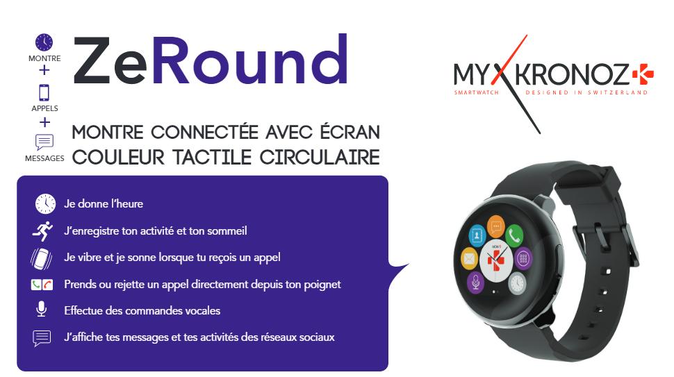 """Résultat de recherche d'images pour """"mykronoz zeround premium smartwatch"""""""