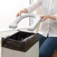 サンコー 非常用 簡易トイレ 防災 ポータブル 日本製 排泄処理袋 凝固剤付 組み立て簡単 耐荷重150kg 携帯 R-56