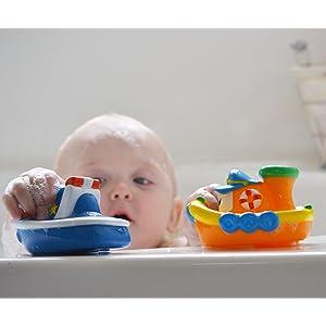 barco, barquito, juguete, baño, flotante, blandito, diversion, jugar, bebes, nuby