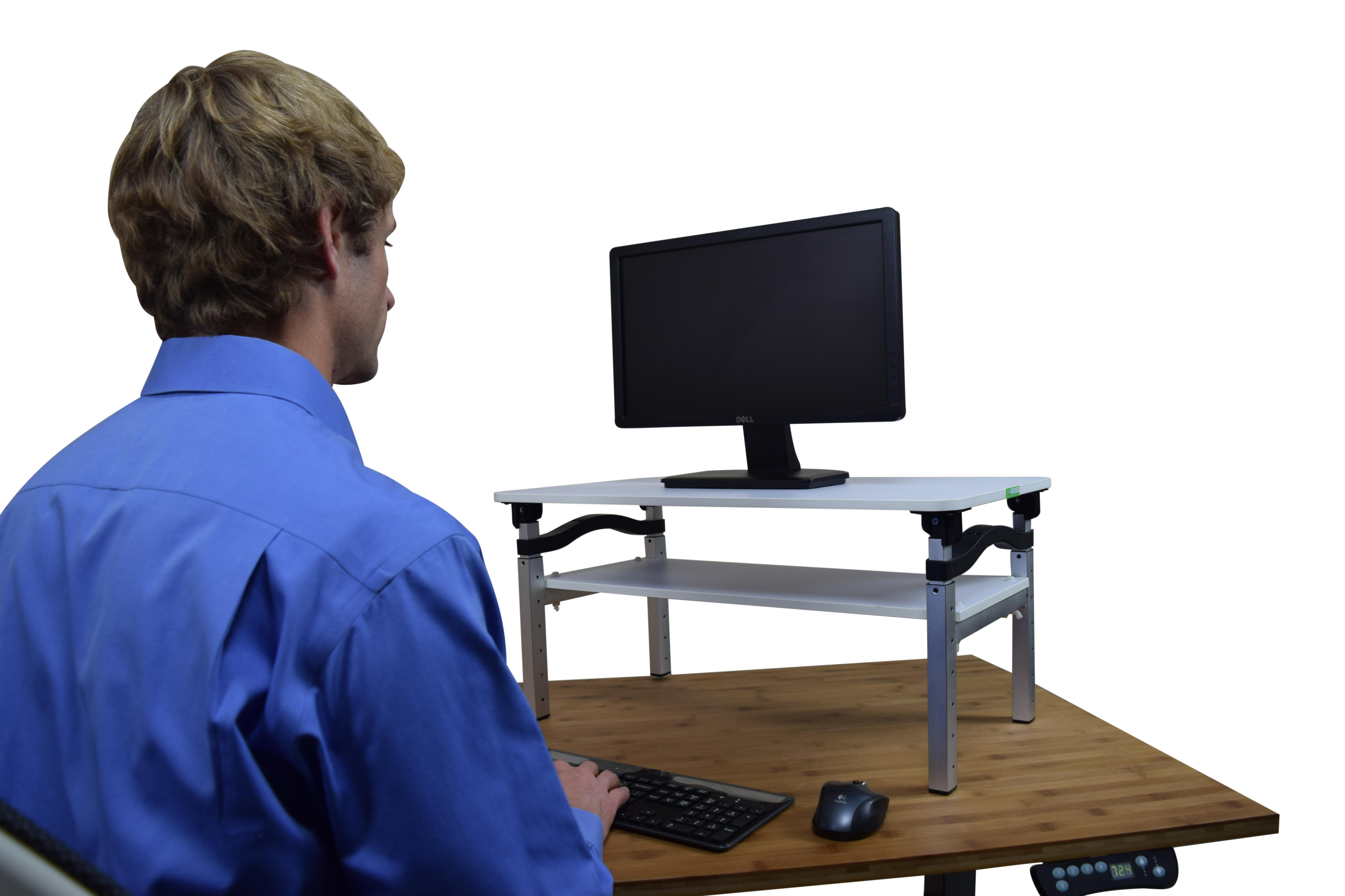 Amazon.com : LIFT Standing Desk Conversion Kit. Tall