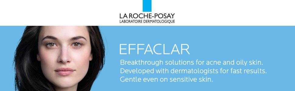 La Roche-Posay Effaclar Medicated Gel Acne Cleanser, 6 76 Fl  Oz