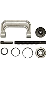 steering amp; suspension tools;bushing removal tool; control arm bushing tool; jeep ball joint press