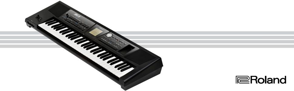 Roland Bk-5 Clavier De Support - 61 Touches