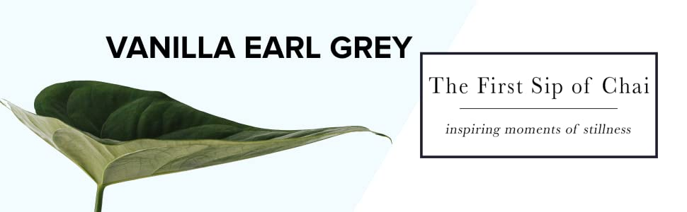 vanilla earl grey tea concentrate