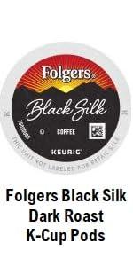 Black Silk Cups