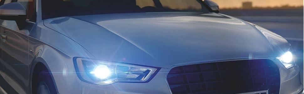 2x Ford Focus MK3 Genuine Osram Cool Blue Intense High Main Beam Headlight Bulbs