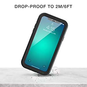 drop proof to 2m/6ft