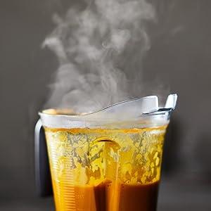 Heiße Suppe ohne Herd