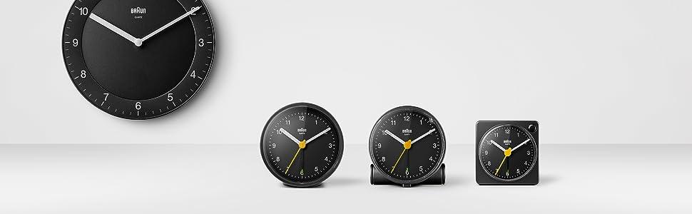 braun klockor
