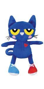 Pete the cat;baby pete;pete bedtime;blue cat;infant plush;preschool;cat plush;cat stuffed animal