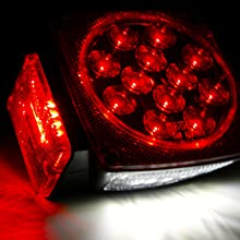 Wellmax CZC Optronics Partsam MaxxHaul MaxWorks trailer light LED 12 volt replacement utility tail