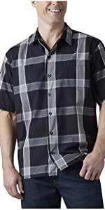 plaid shirt, work shirt, camp shirt, button up shirt, Carhartt tee, Carhartt pant, Wrangler, Levis