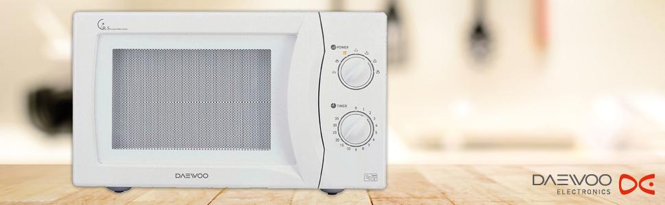 Daewoo KOR6N35SR Manual Microwave Oven