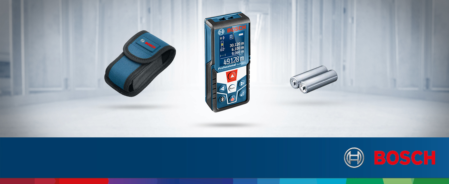 Bosch Professional GLM 50 C - Medidor láser de distancia ...