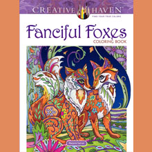 Adult Coloring, Animals, Foxes