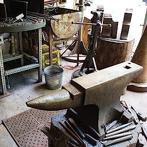 blacksmithing tools, blacksmiths tools, bladesmithing books, complete blacksmith, DIY metalworking