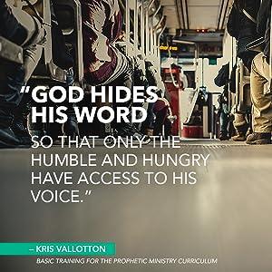 basic training for prophetic ministry kris Vallotton