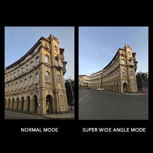 Super Wide-Angle Camera