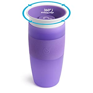 Munchkin Miracle 360/° azul 296 ml Vaso antiderrames