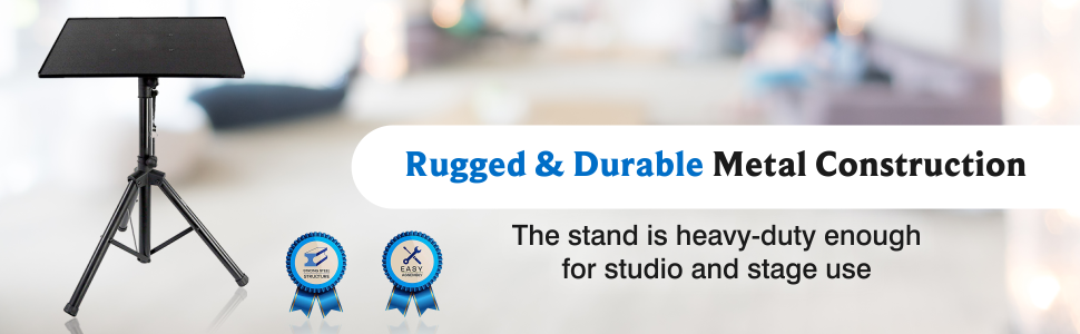 universal device stand footer banner