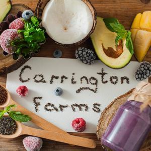Carrington Farms seeds and grains smoothie