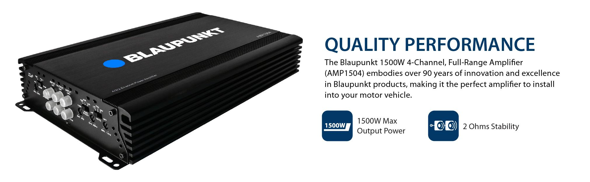 Blaupunkt 4 Channel Amp Wiring Diagram Automotive Jl Auto Amazon Com 1500w Full Range Amplifier Rh Speakers And Sub