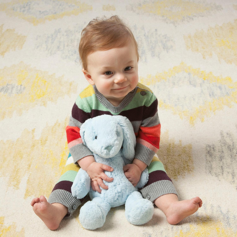 Amazon Manhattan Toy Lovelies Riley Rabbit Plush White 12