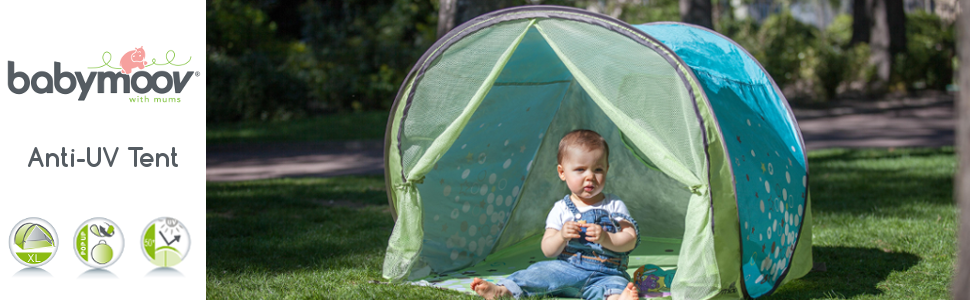 The ultimate UPF 50+ sun shade to safely play rest and sleep  sc 1 st  Amazon.com & Amazon.com: Babymoov Anti-UV Tent - UPF 50+ Sun Shelter for ...