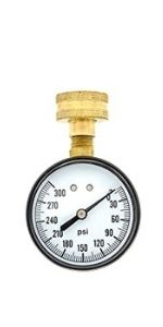 Hose Connection Utility Water Test Gauge