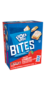 Pop-Tarts Bites Frosted Strawberry