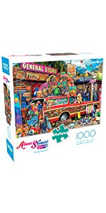Family Vacation - 1000 Piece Jigsaw Puzzle