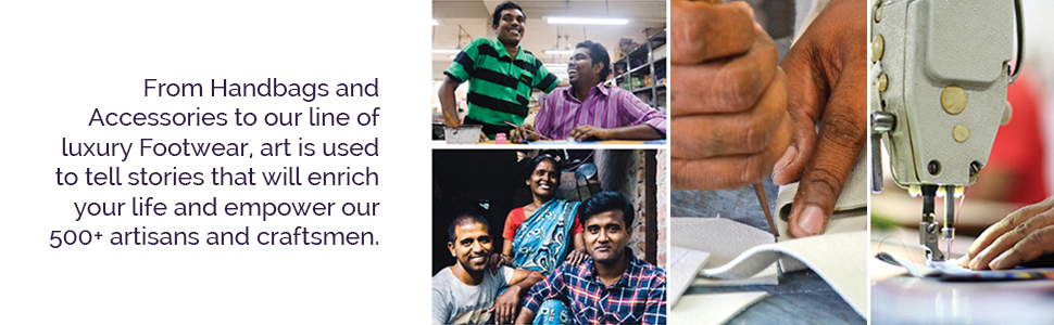 Anuschka empowers the lives of 500+ artisans and craftsmen