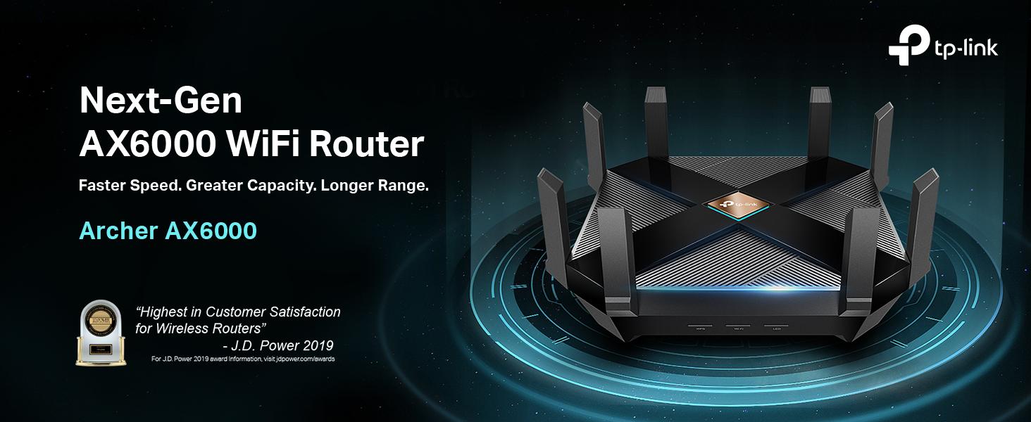 Archer AX6000 WiFi 6 Router