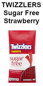 twizzler twizzlers sugar free sugarfree candy twists strawberry flavor flavored