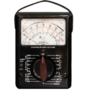 Rugged, Precision Analog Multimeter