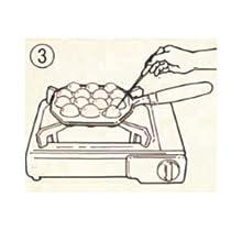 たこ焼きプレート 14穴